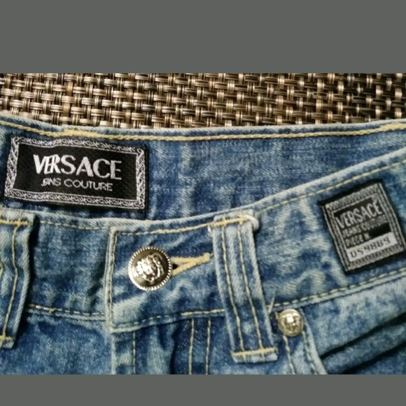 4cd67c858949 ❤Vintage Versace Jeans Couture Italian Sizes 27x32.  M 5afe51833b1608fa8b701cf9